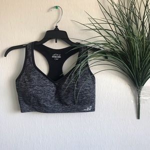 Black and Gray BCG Sports Bra
